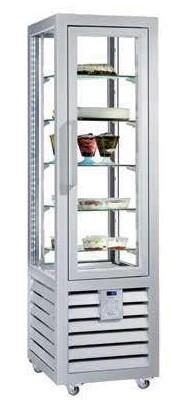 Vitrina frigorifica verticala pentru patiserie, 427 L