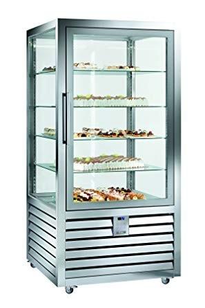 Vitrina frigorifica verticala ventilata de patiserie , 1 usa, 425 litri