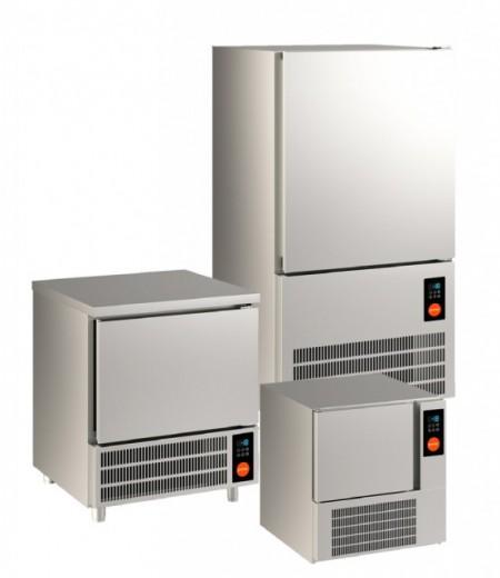 Blast chiller capacitate 5 tavi GN1/1 sau 600x400mm