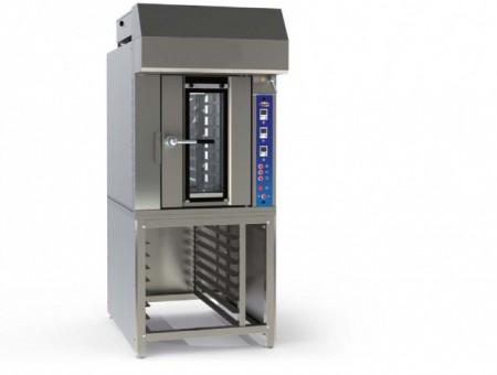 Cuptor electric rotativ pentru panificatie, 8 tavi 500x700mm