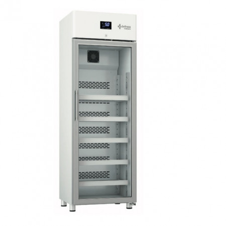 Dulap frigorific pentru laborator cu usa de sticla, 360 litri