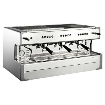 Espressor semi-automatic cafea-3 grupuri rotunde