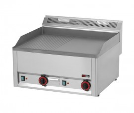 Poze Gratar Fry-top electric neted-striat 480×650 mm