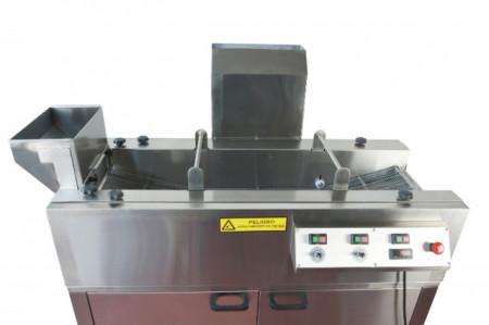Masina tip banda pentru prajire(friteuza), blansare sau fierbere, pe gaz, 440mm