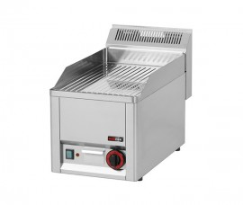 Gratar Fry-top electric cromat striat 480×320 mm
