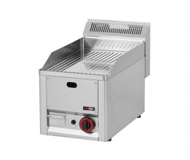 Poze Gratar Fry-top gaz cromat striat 480×320 mm