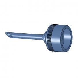 Tub de injectie pentru adaptor masina de injectat crema, 10mm