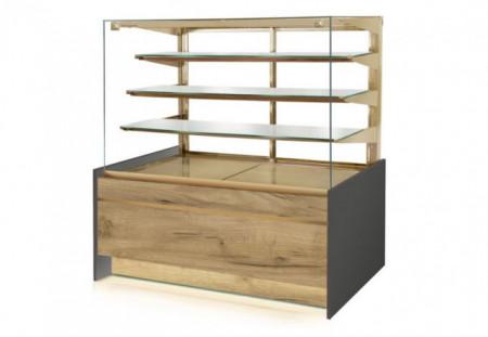 Vitrina frigorifica pentru cofetarie/patiserie, 1390x890x1450mm