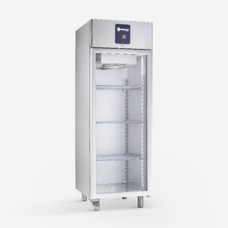 Dulap frigorific din inox(PREMIUM), 600 litri, cu usa de sticla