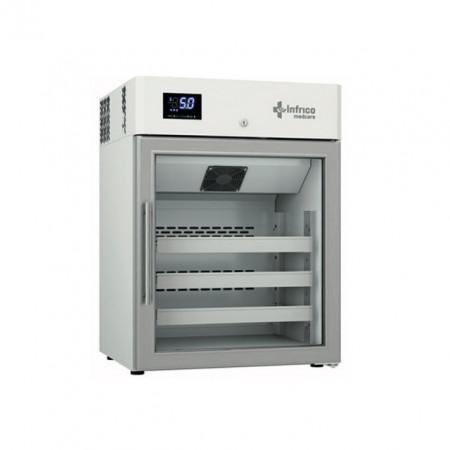 Dulap frigorific pentru laborator cu usa de sticla, 150 litri