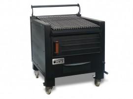 Gratar profesional barbeque pentru steak pe carbuni, 800X820X930 mm