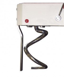 Malaxor cu spirala,cap rabatabil si cuva detasabila ,33 L ,25 kg