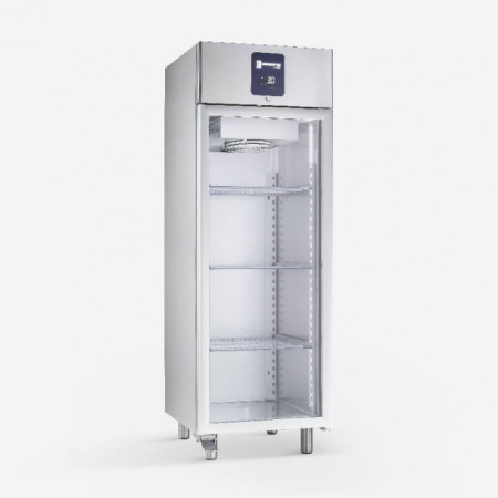 Dulap congelare din inox(PREMIUM), 600 litri, cu usa de sticla