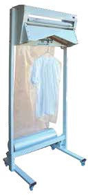 Masina verticala de ambalare pentru haine