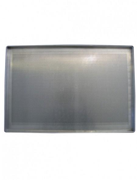 Tava aluminiu, perforata, 450x650mm