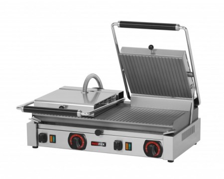 Toaster panini cu mecanism prin apasare pe placi