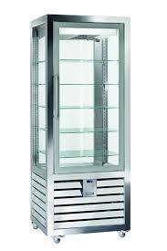 Vitrina frigorifica verticala pentru inghetata cu 1 usa, 427 L