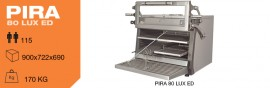 Cuptor pentru steak pe carbuni,deschidere verticala, Pira 80 LUX ED