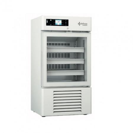 Dulap frigorific pentru laborator cu usa de sticla, 170 litri