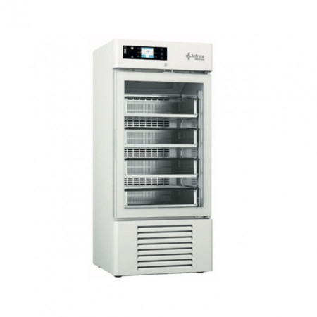 Dulap frigorific pentru spitale / banci de sange , 250 litri , usa de sticla