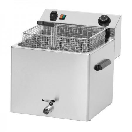 Friteuza electrica 11 litri cu supapa pentru scurgerea uleiului, 400V