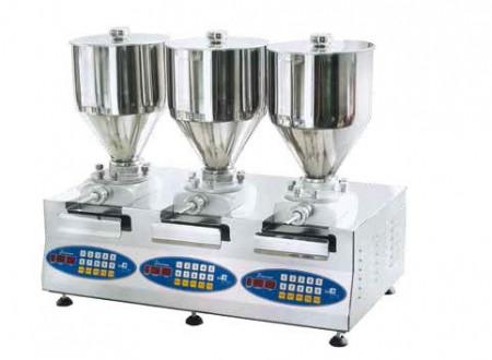 Masina pentru injectat crema, 3x8.5 litri
