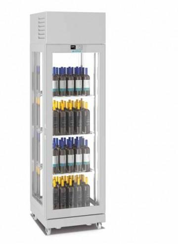 Vitrina frigorifica pentru vin 850x650x2250, 4 fete sticla