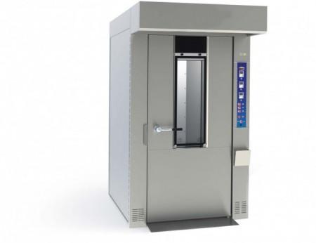 Cuptor electric rotativ pentru panificatie, 18 tavi 400x600mm