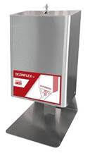 Distribuitor automat de dezinfectare a mainilor, de perete