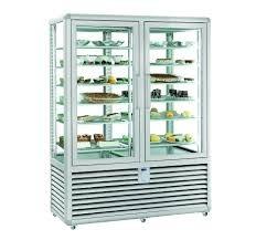 Vitrina frigorifica pentru produse de gelaterie/inghetata 2 usi, 742 Litri