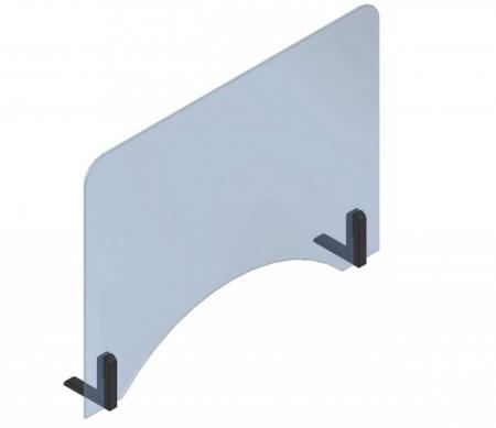 Panouri de protectie din policarbonat pentru birou, receptii, caserii, 800mm