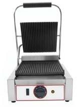 Toaster cu mecanism prin apasare pe placi striate