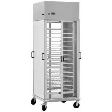 Carucior refrigerare pentru meniuri, 10 grile GN2/1