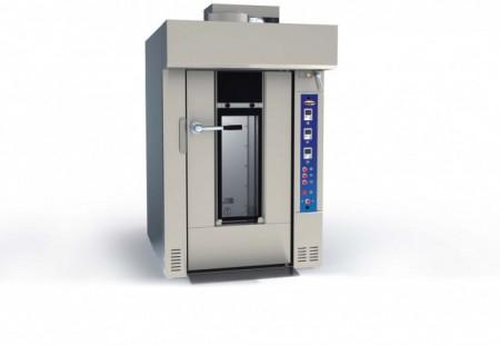 Cuptor electric rotativ pentru panificatie, 15 tavi 450x650mm