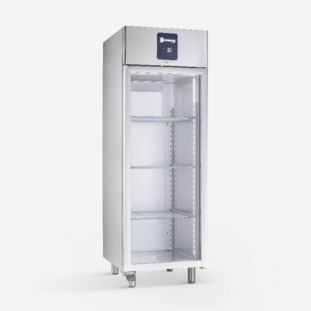 Dulap congelare din inox(PREMIUM), 700 litri, cu usa de sticla