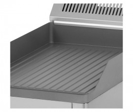 Poze Gratar Fry-top electric striat 480×320 mm