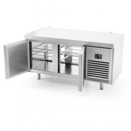 Masa frigorifica centrala pasanta, 1618x800x850 mm