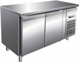 Masa frigorifica pentru patiserie cu 2 usi, 1510x800mm