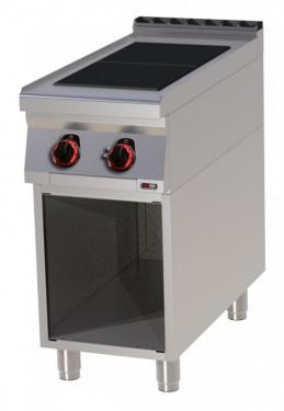 Masina de gatit electrica 2 plite radiante cu suport