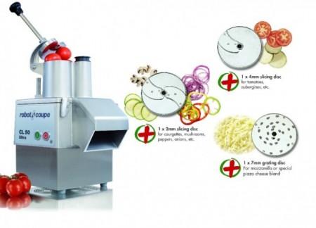ROBOT TAIAT LEGUME PROFESIONAL CL50 ULTRA PIZZA + 3 DISCURI