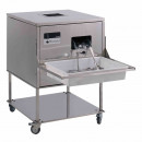Masina de lustruit si sterilizat tacamuri 7000 buc/h, FRUCOSOL SH-7000