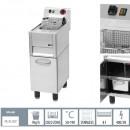 Friteuza electrica profesionala 8 litri 400V cu suport