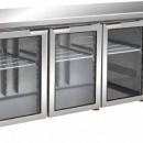 Masa frigorifica cu 3 usi de sticla, 1795x700mm