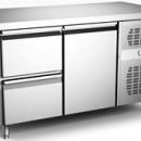 Masa rece congelare ventilata cu o usa si 2 sertare