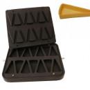 Placa aparat tarte, 14 forme felie tort 110x60mm