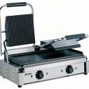 Toaster dublu cu mecanism prin apasare pe placi , neteda/ striata