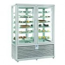 Vitrina frigorifica de prezentare pentru gelaterie/inghetata, ventilata 2 usi, 1116 Litri