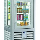 Vitrina frigorifica de prezentare pentru produse de bar, 1 usa, 98 Litri