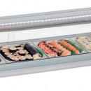 Vitrina frigorifica Sushi Bar 5xGN1/2