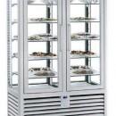 Vitrina frigorifica verticala de prezentare pentru ciocolata cu 2 usi, 742 L